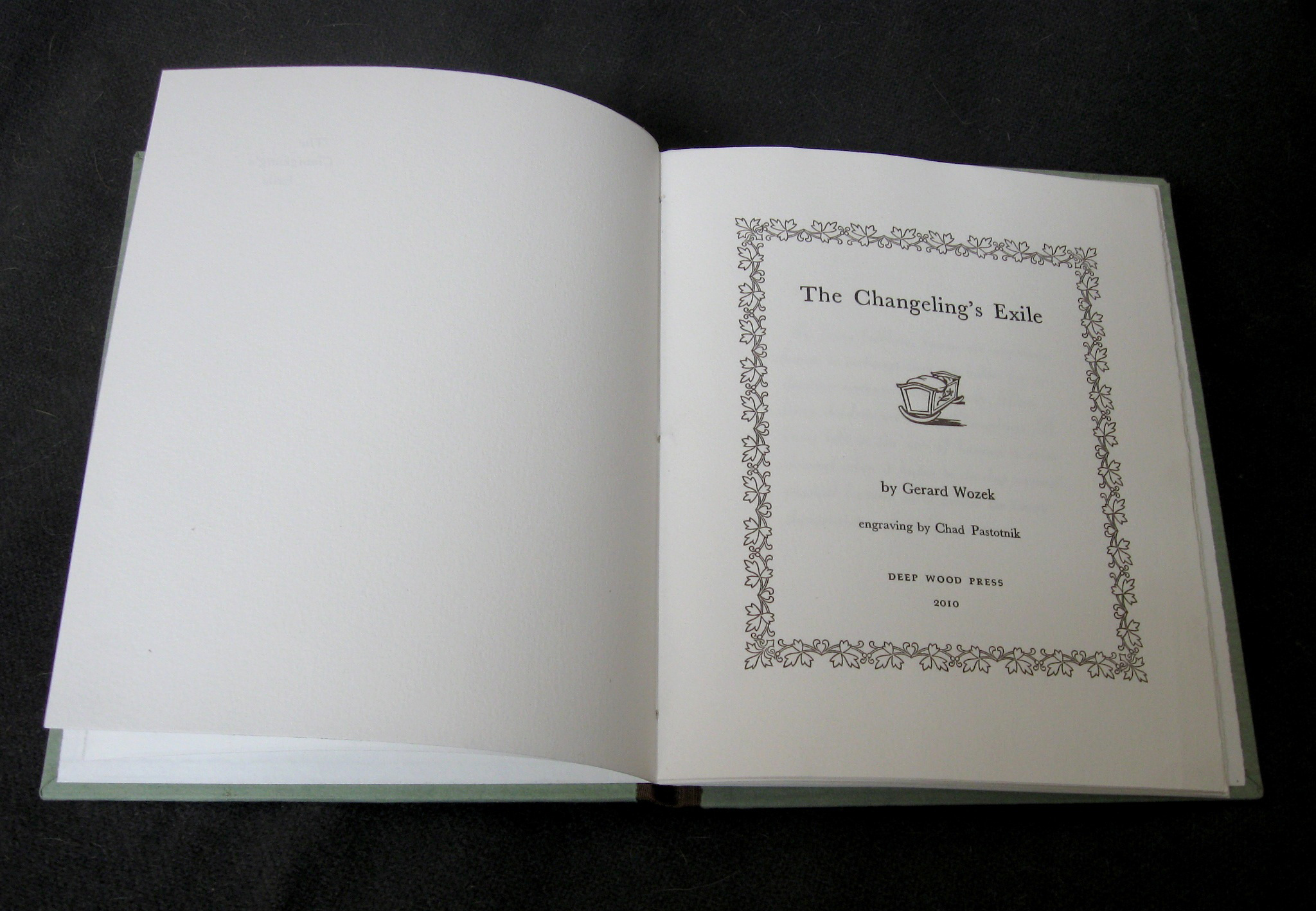 Changeling's Exile title page