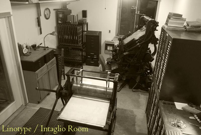 Lino/intaglio