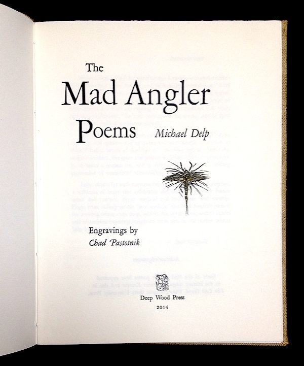 The Mad Angler Poems title page