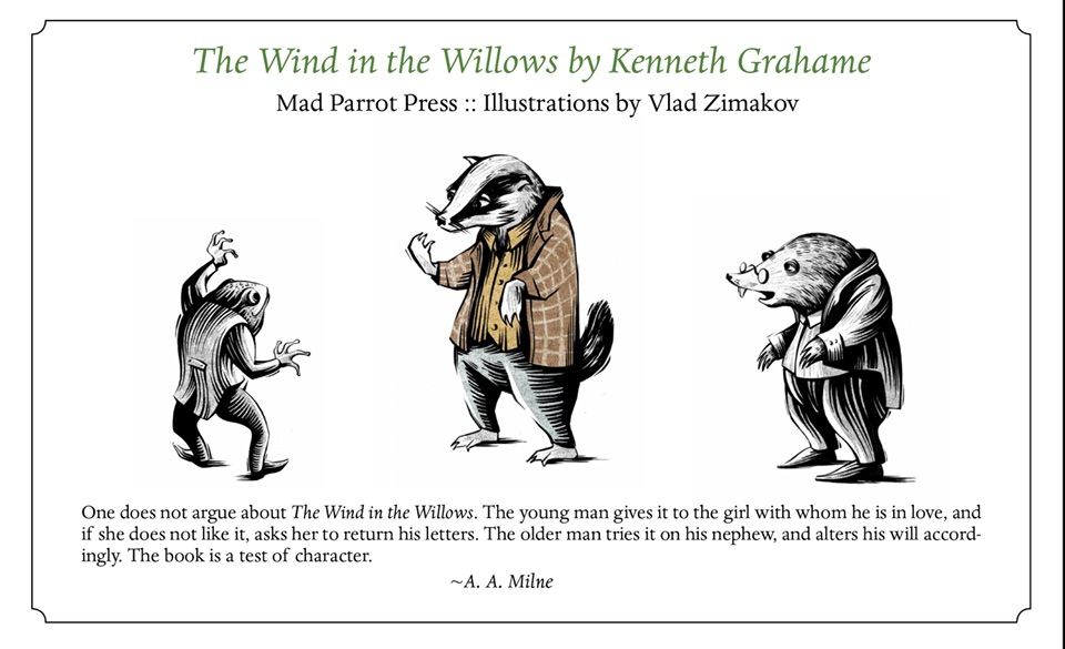 Wind in the Willows promo
