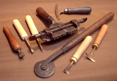 leather tools photograph