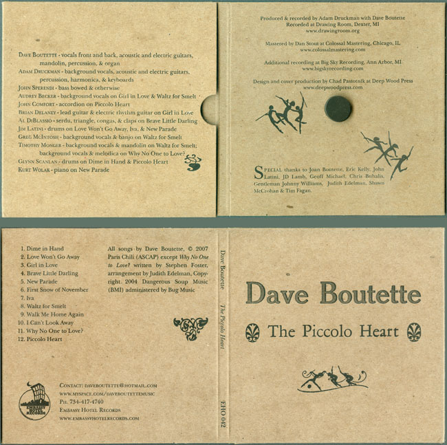 The Piccolo Heart by Dave Boutette