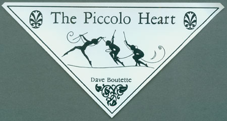 The Piccolo Heart sticker