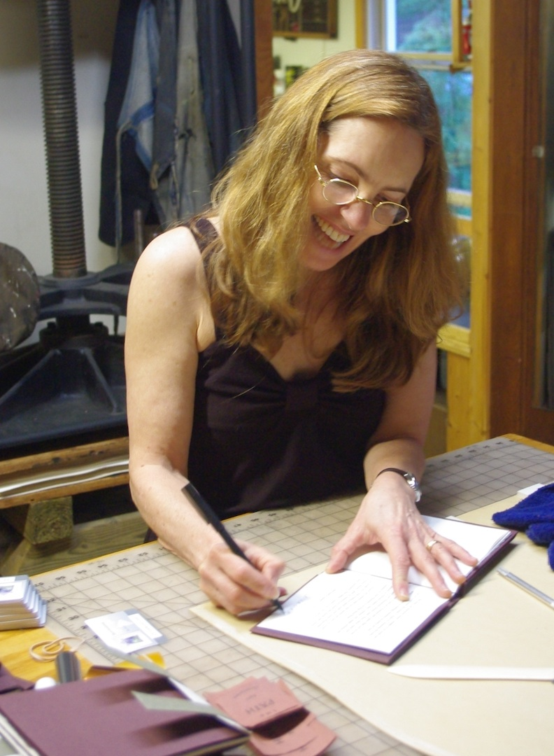 Sigrid signing the edition